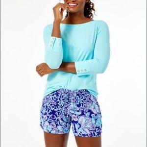 Lilly Pulitzer drawstring shorts, sz med, NWT